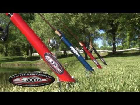 Bfe fishing youtube for Homemade fishing rod holders for bank fishing