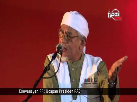 Konvensyen PR: Ucapan Presiden PAS