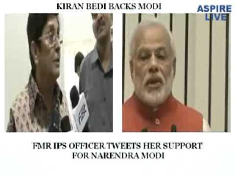 Kiran Bedi back Modi
