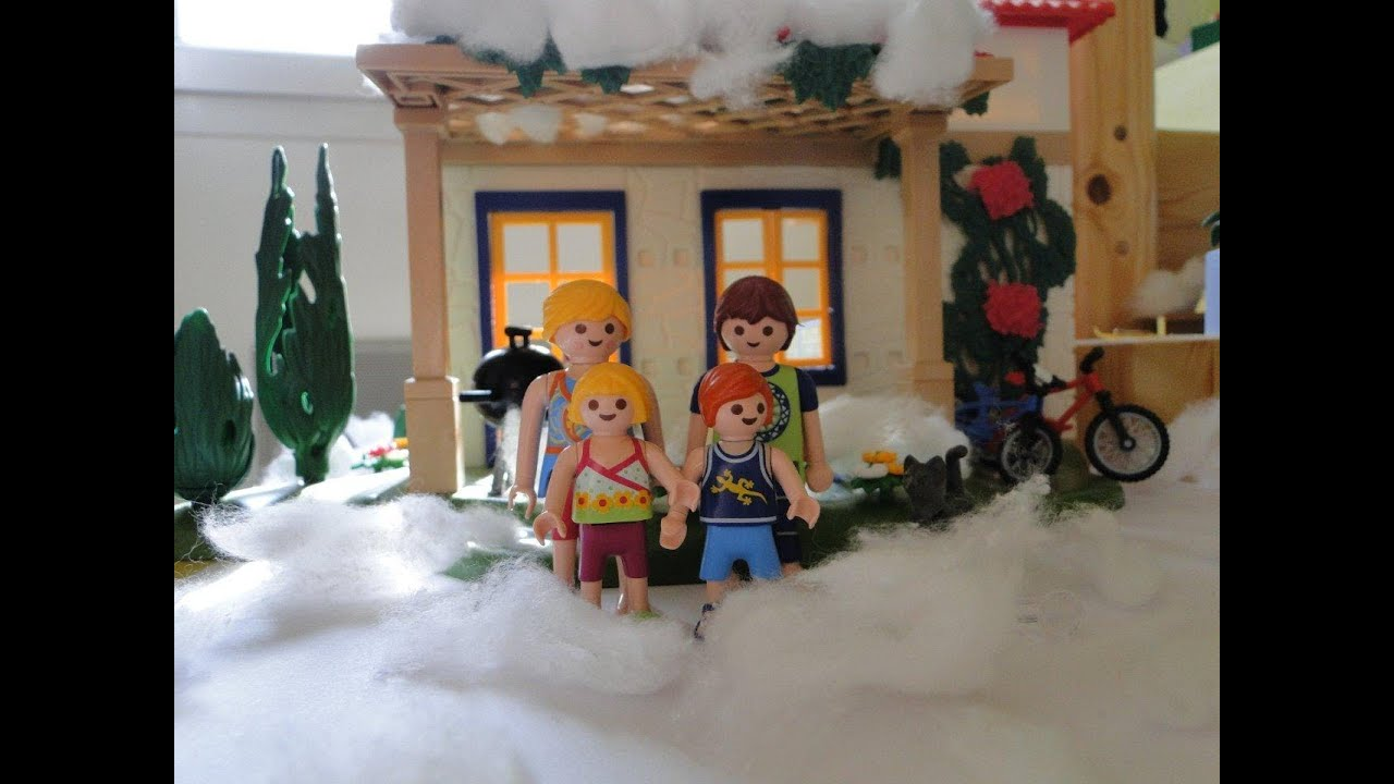Playmobil maison coloriage youtube for Cuisine playmobil