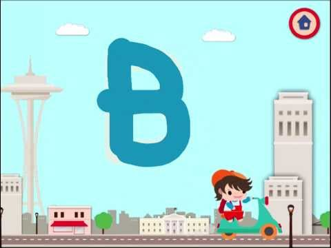 Frugoton City Letters - Education and Fun for Kids