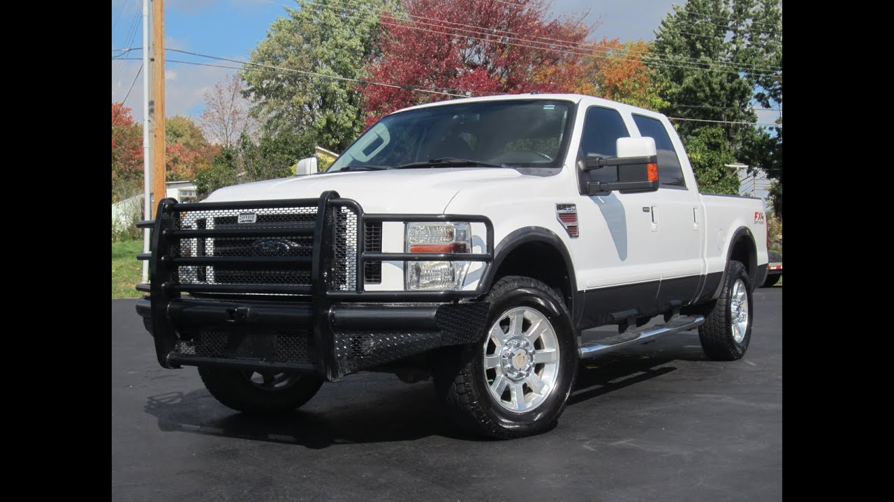 2008 ford f250 fx4 4x4 powerstroke diesel sold youtube. Cars Review. Best American Auto & Cars Review