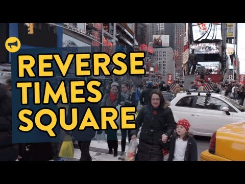 Epic Backwards Prank In Times Square