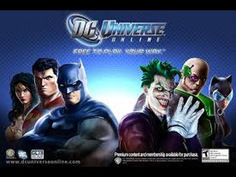 DC Universe Online Opening CGI and character creation