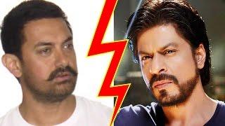 aamir khan clash with shahrukh khan, Aamir khan movies, shah rukh khan movies