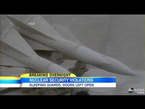 Four U S  Air Force Officers Punished For Leaving Nuclear Blast Doors Open