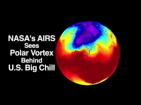 Polar Vortex Behind U.S. Big Chill Explained #NASA