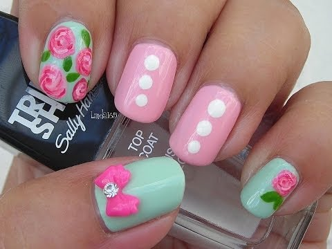 Nail Art - Facebook Challenge April (First Winner)