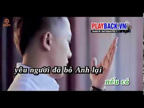 Karaoke HD  Xin Đừng Đến Bên Anh   Châu Khải Phong Full Beat   Video Dailymotion