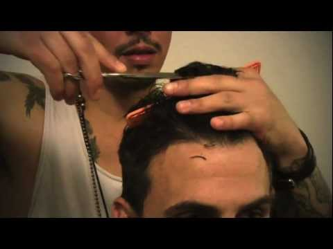 Men's Hairstyle by Daniel Alfonso - Jeremy Jackson Short Haircut