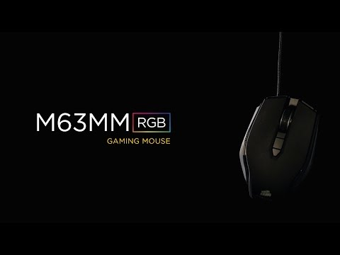 Bild: Corsair M63MM RGB Mechanical Gaming Mouse Intro