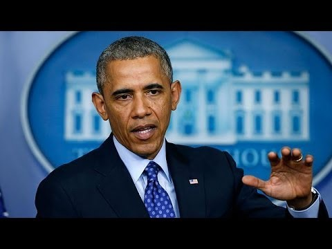 Obama says no imminent air strikes on Iraq