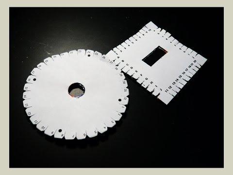Cómo hacer discos Kumihimo(plantilla gratis). How to: Kumihimo disks