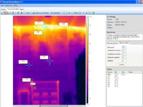 Badanie termowizyjne budynku produkcyjnego