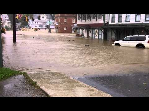 Hurricane Irene Flooding 5 Wilmington Vermont