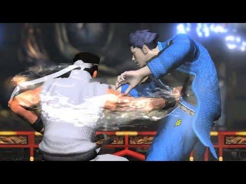 Virtua Fighter 5 Final Showdown 'Console Reveal Trailer' TRUE-HD QUALITY