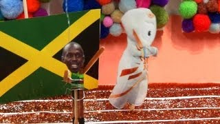 Homemade Highlights: Bolt Strikes a Pose