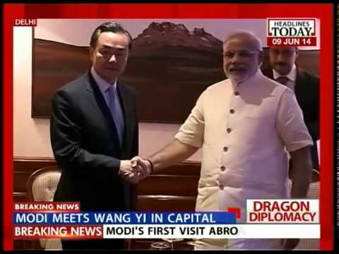 After Sushma, Wang Yi meets PM Narendra Modi