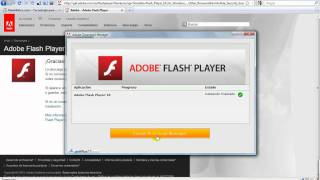 Tutorial Instalar Adobe Flash Player.