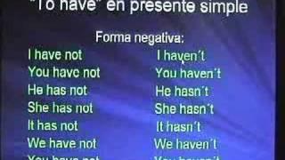 Formación Del Presente Simple En Inglés