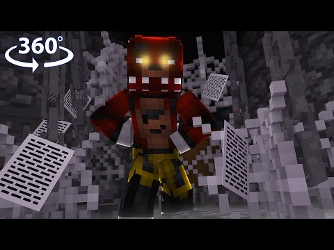 Five Nights At Freddy's - BONNIE VISION! - 360° Minecraft Video