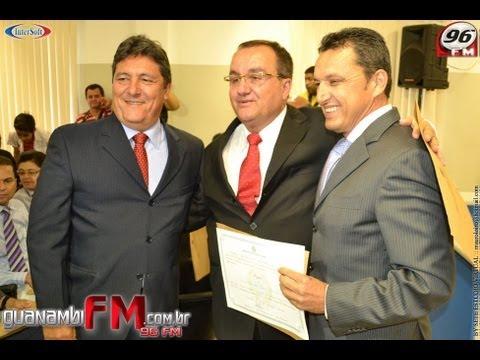 96FM NOTICIAS DIPLOMAÇÃO DOS PREFEITOS DE CANDIBA E GUANAMBI