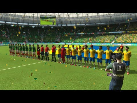Probando el FIFA World Cup 2014 - Brasil Vs Mexico - Contenido, Goles y Mas