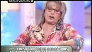 El polémico despido de Mª Teresa Campos por Jesus Hermida