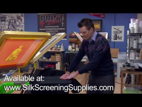Screen Printing Hoodie pallet, Zipper Pallet, Sweatshirt Printing, Printing over the zipper.