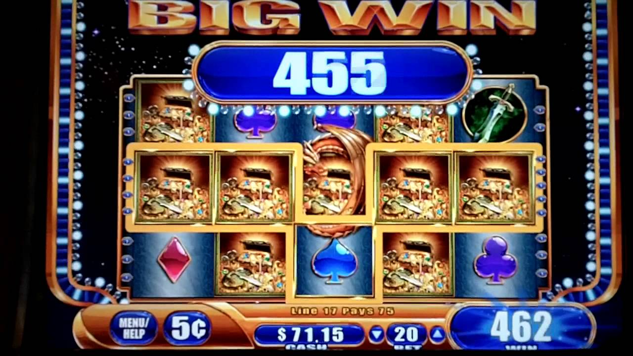 how to play dragon fire slot machine