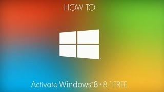 How To Activate Windows 8 + 8.1 NO SURVEY!