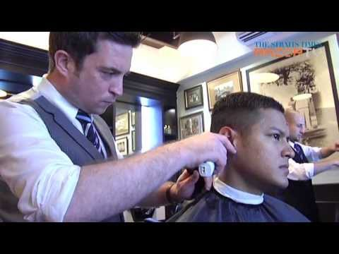 Extreme male pampering (Barbershops Pt 1)