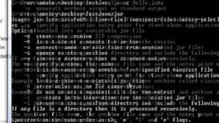 How To Create Java Executables/jar File