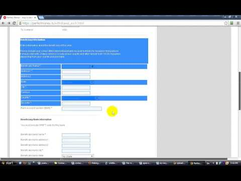 How to withdraw fund from perfect money to your bank account (Hindi)  -video tutorial