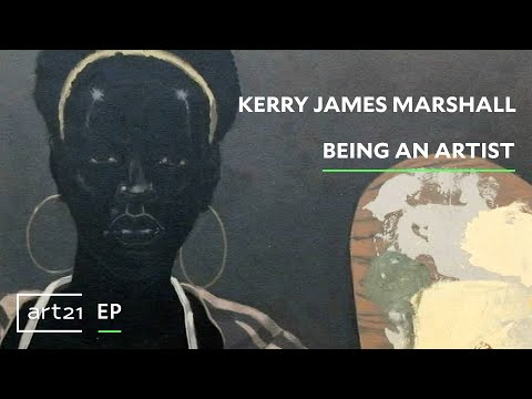 "Kerry James Marshall: Being an Artist | Art21 ""Extended Play"""