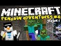 Minecraft: ZOMBIES ARE LEARNING! - The Penguin Adventures #4