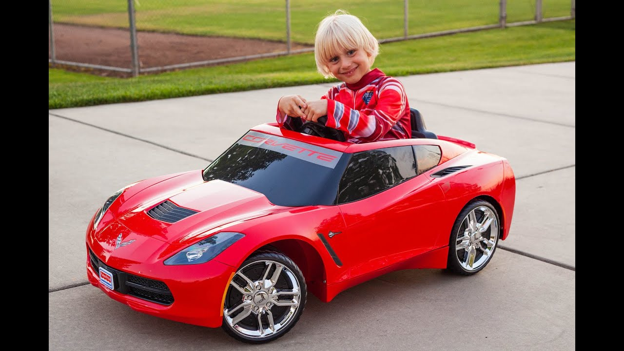 power wheels corvette stingray unboxing youtube. Cars Review. Best American Auto & Cars Review