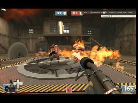 Сжатый воздух огнемета на Sawmill