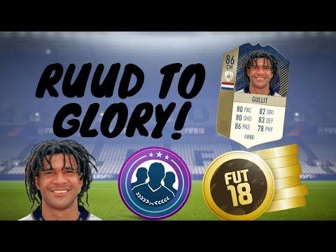 Fifa 18 Ruud To Glory#39 FUTMAS Sbcs And Fut Draft