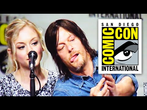 Walking Dead Comic Con 2014 Panel - Part 1