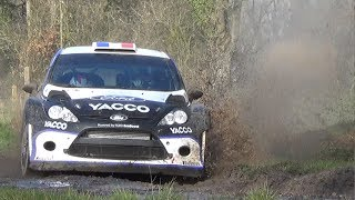 Vid�o Tests Day Julien Maurin Ford Fiesta RS WRC Rallye du Touquet 2014 (+ interview) [HD]