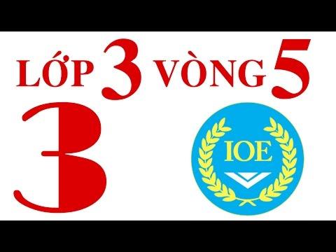 IOE Olympic Tiếng Anh lớp 3 vòng 5 năm 2014-2015