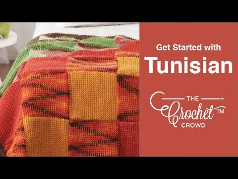 How to Tunisian Crochet: Get Started