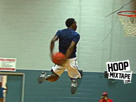 Freshman Kwe'Shaun Parker Has INSANE Bounce! KILLS Behind The Back Dunk!