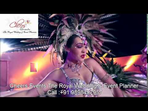 Rio Carnival Brazil Russian Theme Concept Wedding Corporate Entertainment Act Female Artist India
