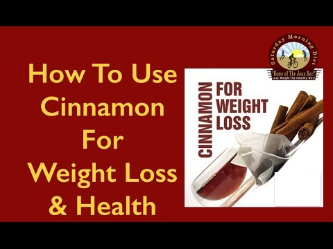 How To Use Cinnamon For Weight Loss & Health JOAN DIET BARS