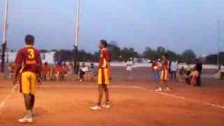 Volleyball Match (Dr. B.R. Ambedkar Memorial Tournament