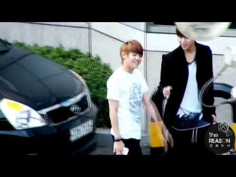 [FANCAM] 110619 !NK! ARRIVAL - Junseob Focus #1
