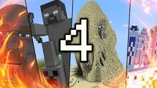 TOP 4 CÔNG TRÌNH ĐƯỢC COI LÀ SIÊU PHẨM VĨ ĐẠI VÀ KÌ CÔNG NHẤT TRONG MCPE | Minecraft PE 1.1.4