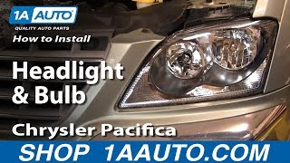 How To Install Replace Headlight And Bulb Chrysler